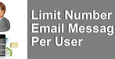 Limit-Number-Of-Email-Messages-Per-User