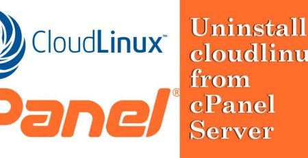 Uninstall-cloudlinux-from-cpanel-server