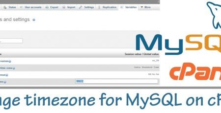 change-timezone-for-MySQL-on-a-cPanel-server