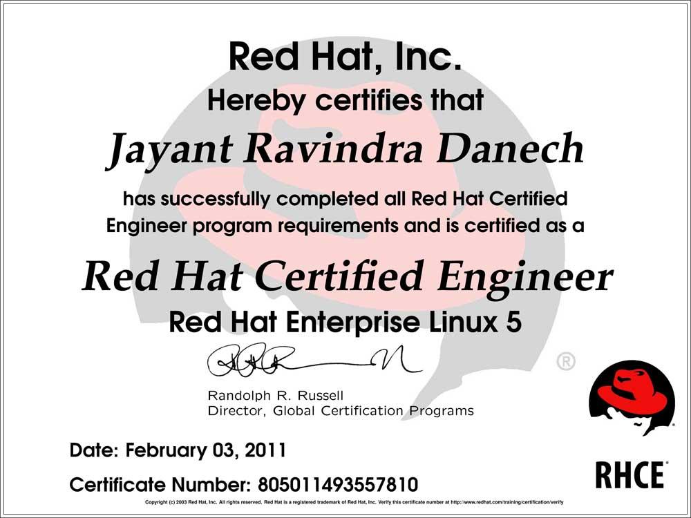 RedHat-Jayant-Ravindra-Danech