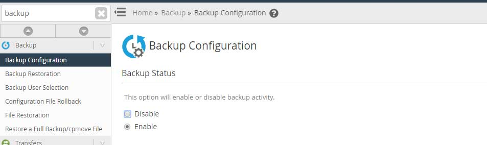 backup-configuration