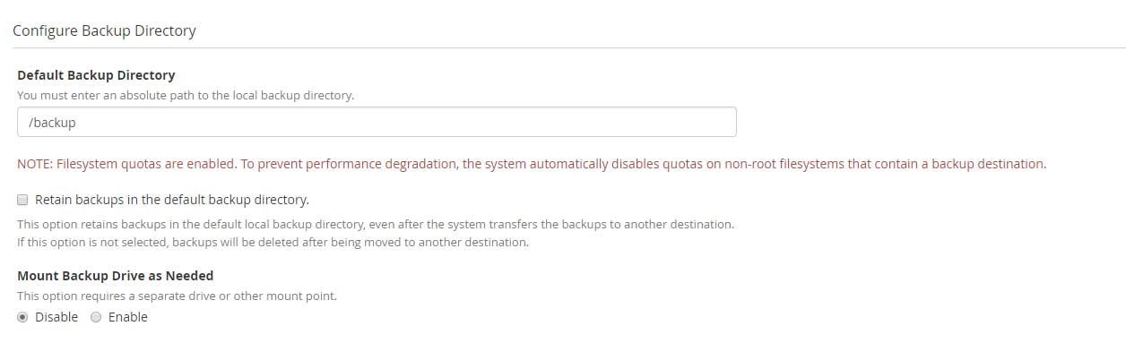 cpanel-whm-configure-backup-directory