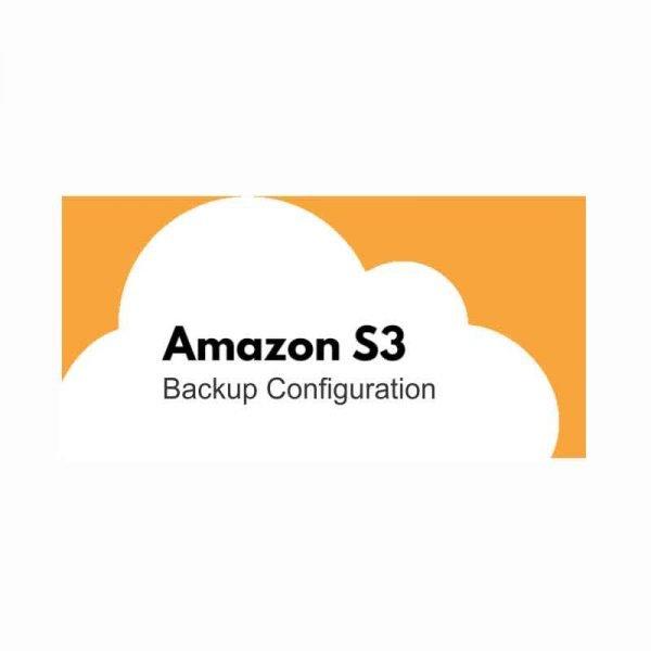 Amazon-S3-backup-configuration