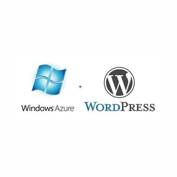 Install Configure Azure instance with WordPress