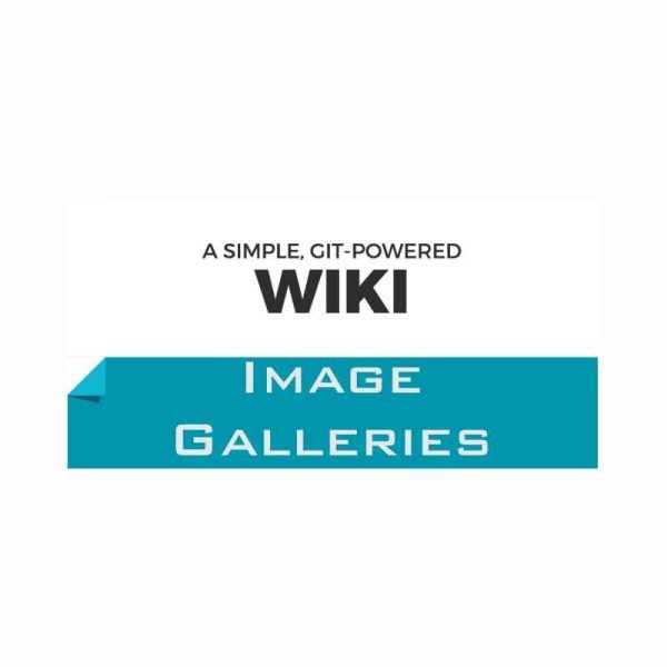 Install-Wiki-&-Image-galleries